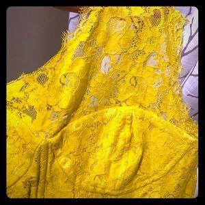 BCBG MaxZaria One shoulder dress